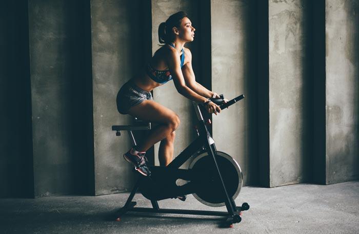 Heimtrainer Rennrad - Speedbike Indoor